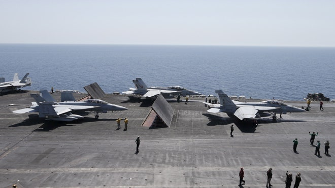 The U.S. Navy will not have an aircraft carrier in the Persian Gulf this fall for the first time since /, President Obama's nominee to be the Navy's top officer told Capitol Hill lawmakers Thursday.