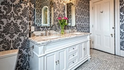 Is your bathroom dull and lackluster? Has it become cluttered with ugly plastic bottles and tattered towels? It's time to retake control and restore some calm and tranquility. Luckily, giving your bathroom a mini-makeover is easy — the time and cost are minimal but the effect can be long-lasting.