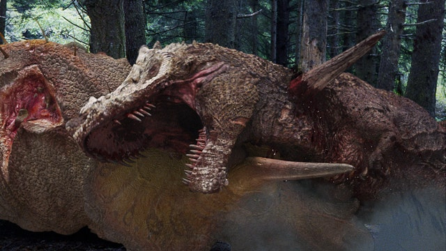 In 'Dinosaur Revolution,' T.rex and Friends Are Actors | Slideshow ...