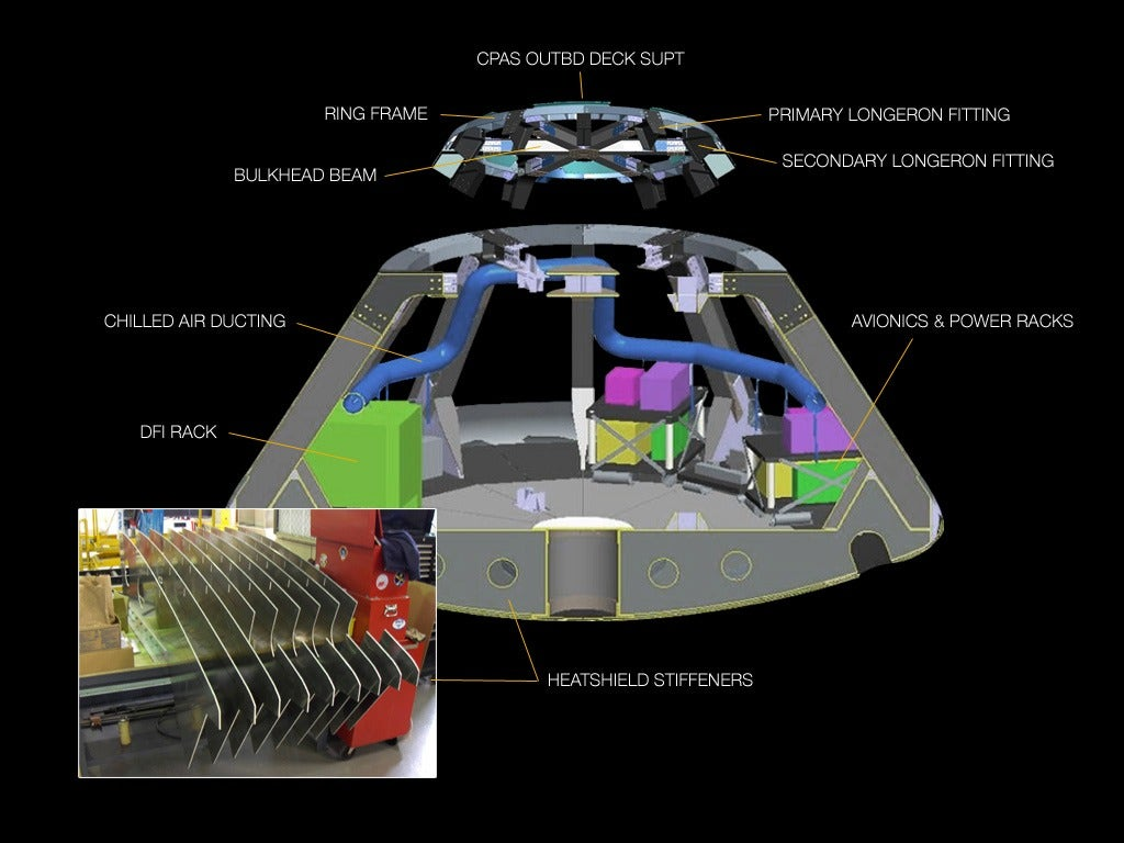 Inside the Orion Spacecraft   Slideshow   Fox News