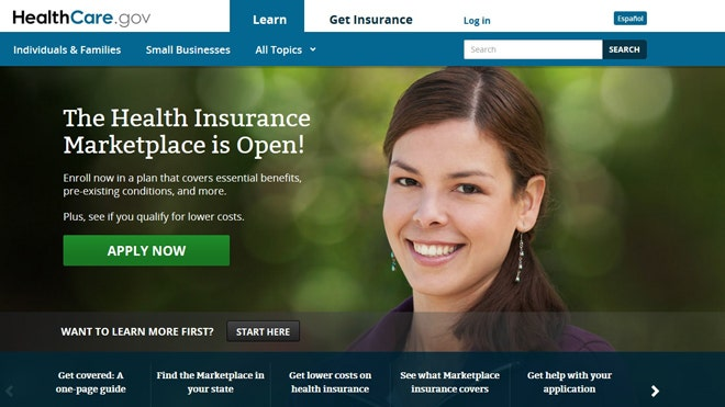 Glitch-filled launch of ObamaCare site decried as 'train ... Marketplace Healthcare Gov Site