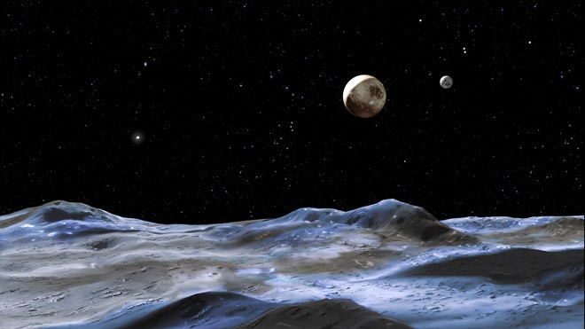 You can name Pluto's moons of the Underworld