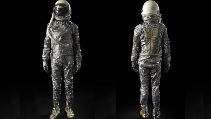 Mercury era spacesuit