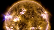 Eruptions on the sun's surface can blasttons of plasma into space -- sometimes right at the Earth. Astonishing pictures show the giant flares and clouds of ionized gas erupting from the star.