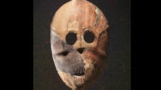 Billed as the oldest masks in the world, a creepy collection of ,-year-old stone faces is now display in Israel.