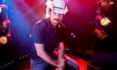 Brad Paisley is taking control of the conversation about Brad Paisley with the release of his new album, Moonshine in the Trunk.