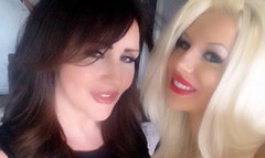 Courtney Stodden said Gary Busey slapped her momager.