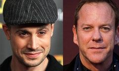Kiefer Sutherland on Monday responded to pointed criticism from Freddie Prinze Jr., who said the  actor was so tough to work with that he almost quit acting over the star's unprofessional behavior.