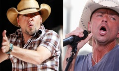 Aldean recalls his wild night with Chesney.