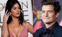 Katy Perry and Orlando Bloom are Hollywood's newest couple, and were seen cozying up over dinner at the posh Sunset Tower Hotel on Wednesday.