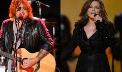Martina McBride and Billy Ray Cyrus channeled their Beatle Mania to pay tribute to the Beatles' Los Angeles Invasion at a three-day event at the Hollywood Bowl in Los Angeles.