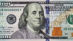 The newly designed $ bill showcases a slew of new anti-counterfeiting features including D security ribbons and threads, color-shifting numbers, hidden microprint text and subtle watermark images.
