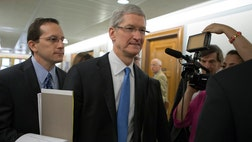 >Apple Inc. is as American as apple pie, and to prove it, the company plans to make its next computer's on U.S. soil, CEO Tim Cook told a Senate panel Tuesday.