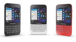 Research In Motion unveiled a lower-cost BlackBerry aimed at consumers in emerging markets on Tuesday, and said it will offer its once-popular BlackBerry Messenger service on iPhones and devices running Google's Android software.