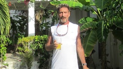 Just when you thought the strange story of John McAfee was over….