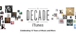 >Today is iTunes' 10th birthday. The music service has come a long way in its decade of existence.
