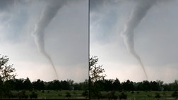 "Inconceivable"" tornadoes, rated F, have wind speeds of  miles per hour and can hurl cars and refrigerators like missiles."