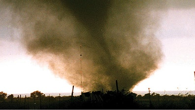 Born from thunderstorms, tornadoes can rip apart homes and toss cars around like toys. These are some of the most vicious twisters to hit the U.S. in recorded history.