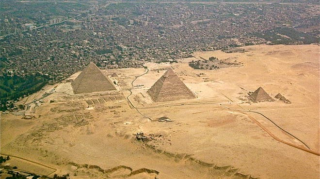Secret treasure in Great Pyramid awaits discovery, Egypt's 'Indiana Jones' says