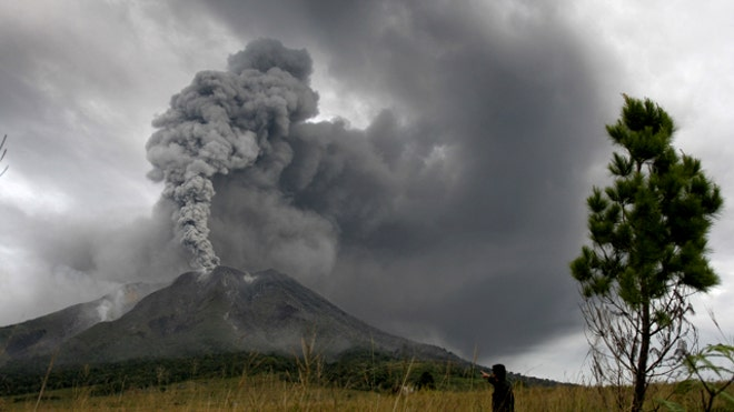 Mega volcanoes responsible for mass extinctions on Earth?