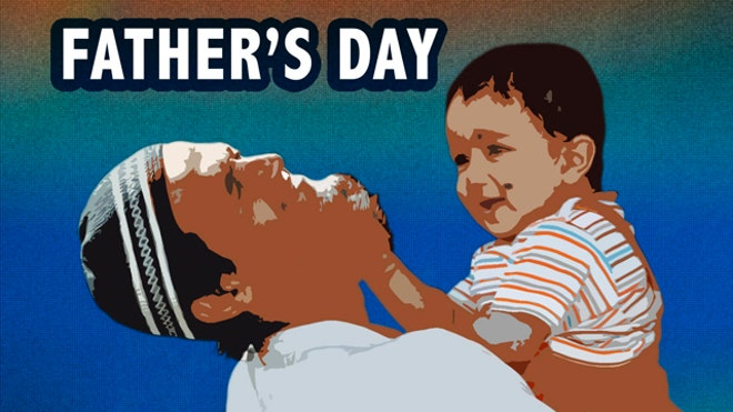 Fathers Day graphic AP