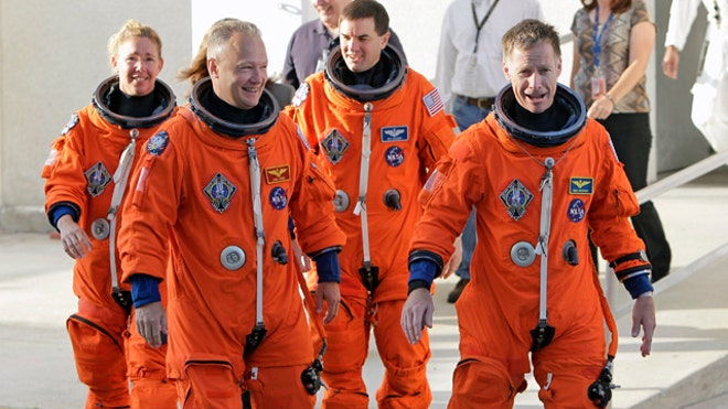 Space Shuttle Final Four Astronauts