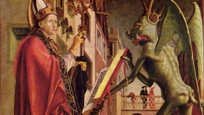 St Wolfgang and the Devil