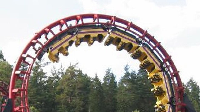 on paper  the world u0026 39 s smoothest roller coaster ride
