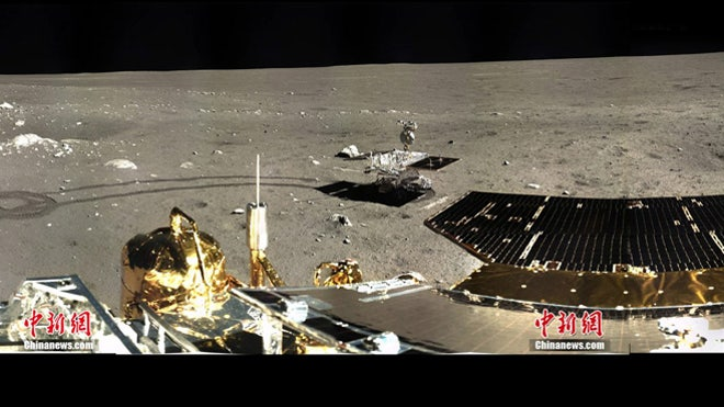 China s Chang e 3 captures its first stunning panoramic images of the Moon Fox News