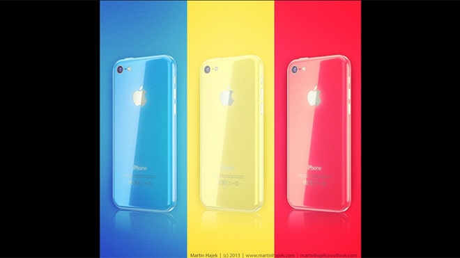 Artist guess at color iPhone 5C