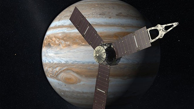 NASA's Juno spacecraft to become fastest man-made object as it slingshots around Earth towards Jupiter