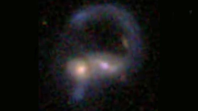 Loch Ness 'monster' spied… in space!