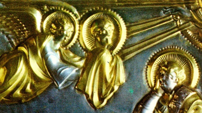 How artisans centuries ago achieved sophisticated gilding, such as on the St. Ambrogio golden altar from 825 AD, is now coming to light. (American Chemical Society)