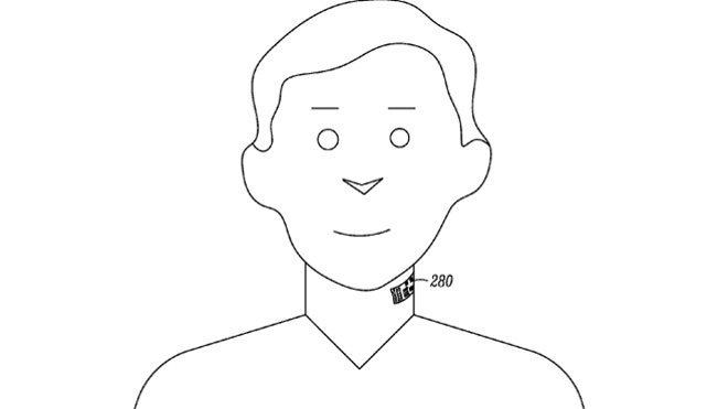 Who Needs Bluetooth Headsets? Motorola Patents 'neck