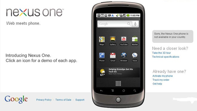 Google's Nexus One 'Super Phone'