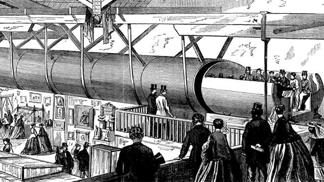 Tesla Motors co-founder set to unveil top secret high-speed Hyperloop train next month