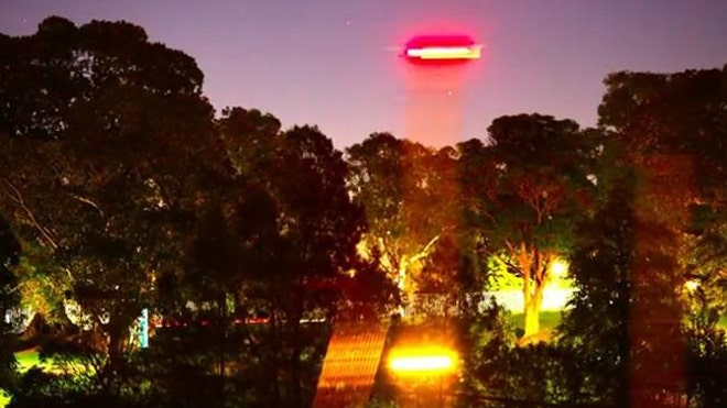 Russell Crowe found a UFO
