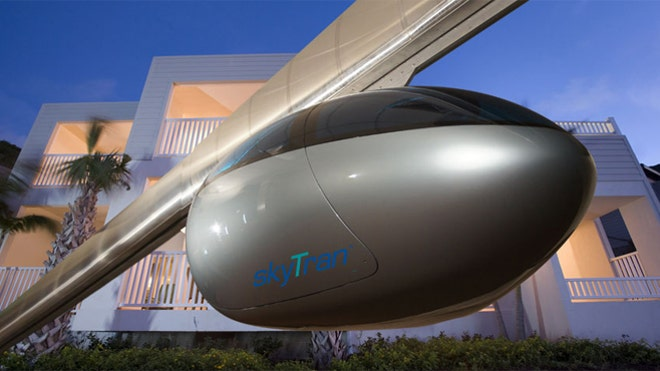 Magnetic, levitating 'sky trains' may be coming to a city near you