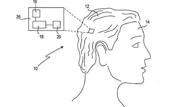 Sony files patent for bizarre 'SmartWig' with vibrating sideburns