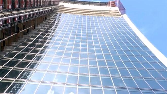 Meet the skyscraper that melts cars