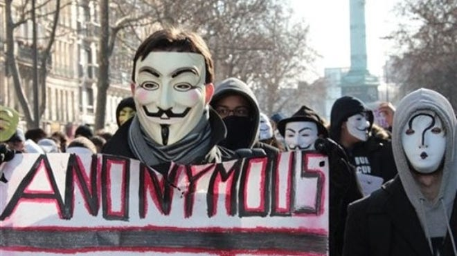 Anonymous group