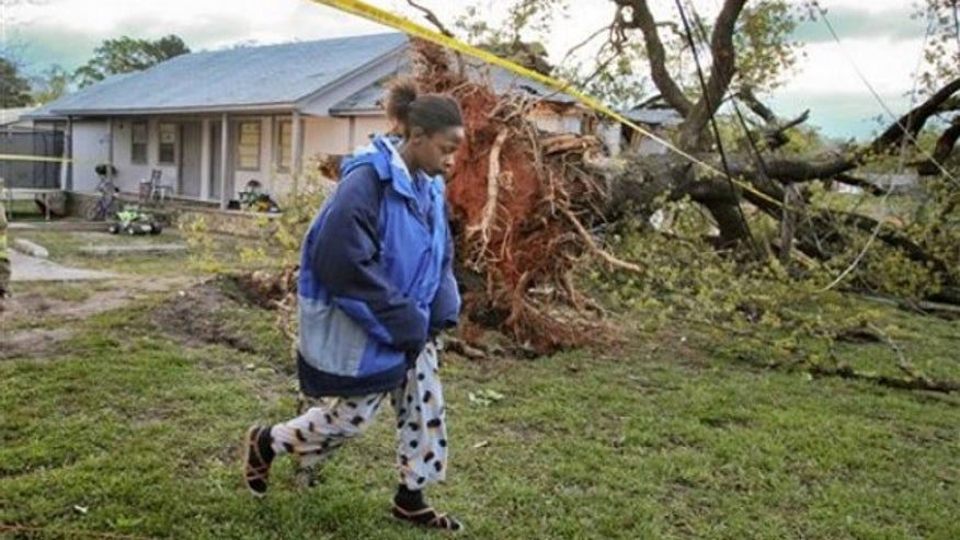 storms hit Georgia