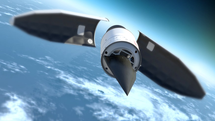 Falcon HTV-2 Hypersonic Plane Deploys