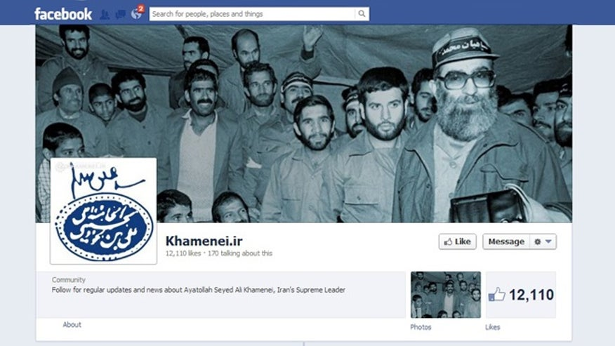 Khamenei on Facebook.jp