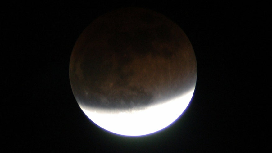 Partial Lunar Eclipse from Florida