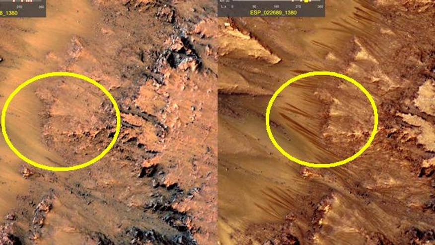 nasa satellites on mars - photo #27