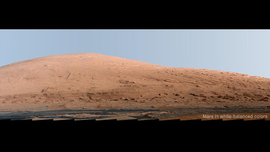 curiosity rover color - photo #7