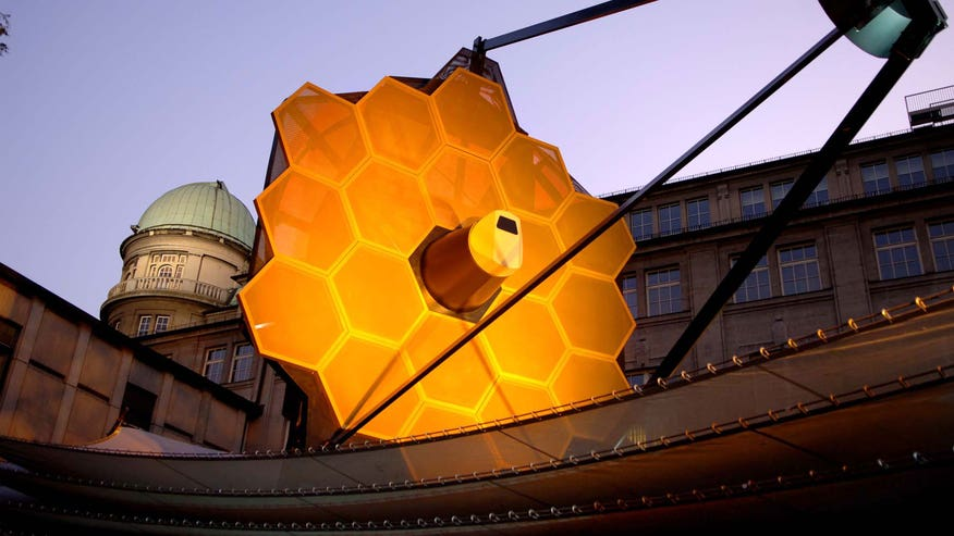 James Webb Telescope on Display in Germany