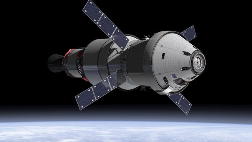 nasa orbiters orion dragon - photo #4