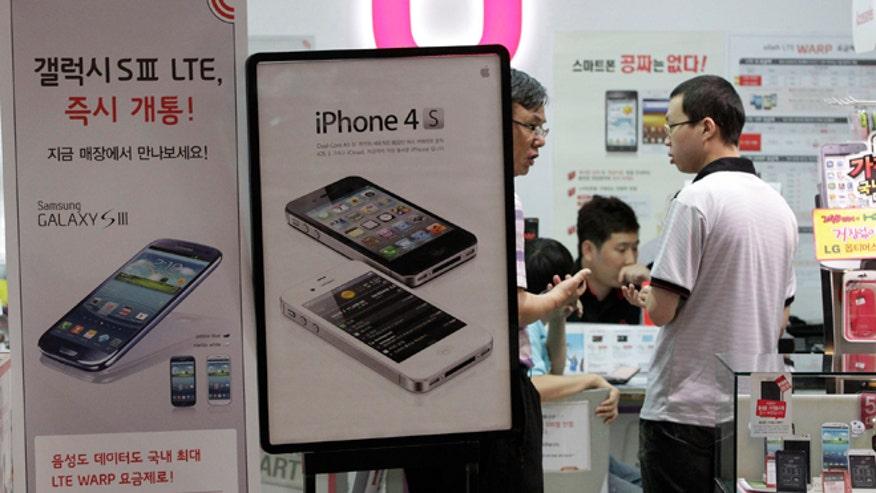 ... at a local store in Seoul, South Korea. (AP Photo/Ahn Young-joon
